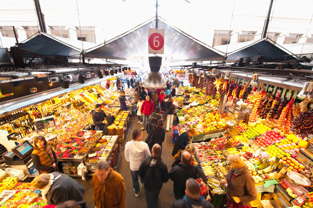 Inside Mercat de la Boqueria | Visit Barcelona With Family