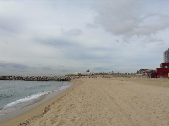 Bogatell Beach in Barcelona | Visit Barcelona With Family