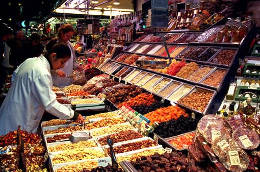 Mercat de la Boqueria Stall | Visit Barcelona With Family