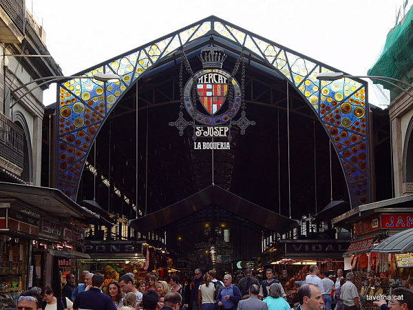 Mercat de la Boqueria Entrance | Visit Barcelona With Family
