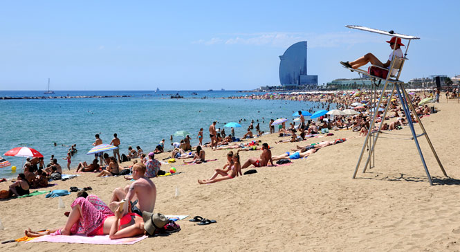 Barceloneta Beach in Barcelona | Visit Barcelona With Family