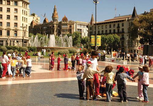 Shopping in Catalunya Square | Visit Barcelona With Family