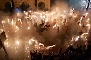 Correfocs at Festa Major de Poble Sec | Visit Barcelona With Family