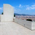 The Joan Miro Foundation Terrace | Visit Barcelona With Family