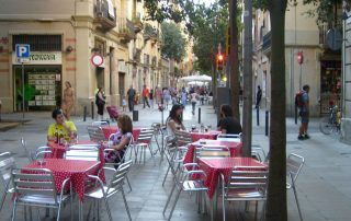 Calle Blai in Barcelona | Visit Barcelona with Family