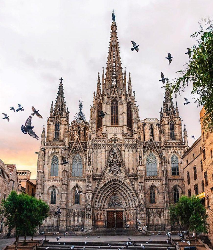 Catedral de Barcelona - Visita Barcelona con Familia
