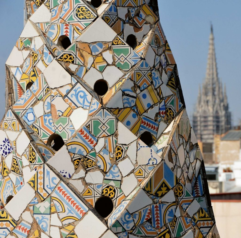 Palau Guell, Rooftop View
