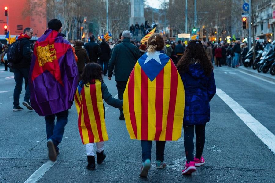 Diada Catalunya Barcelona