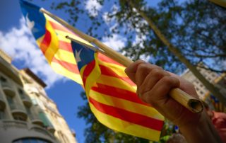 Diada Catalunya en Barcelona