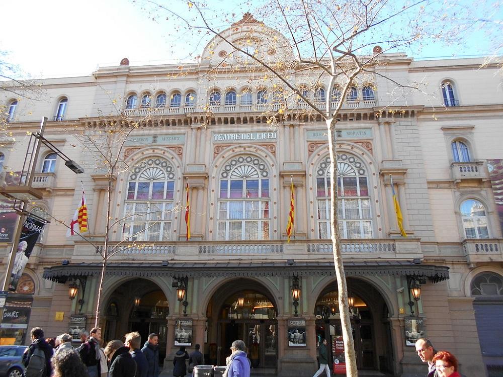 Teatro Liceu on Las Ramblas, Barcelona