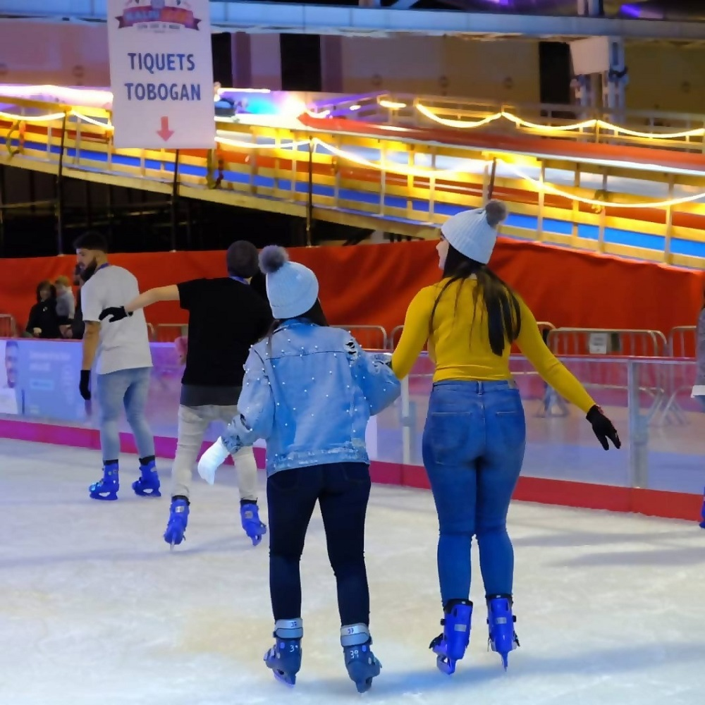 Ice Skating in Barcelona this Winter