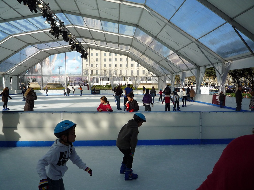 Where to go Ice Skating in Barcelona this Winter